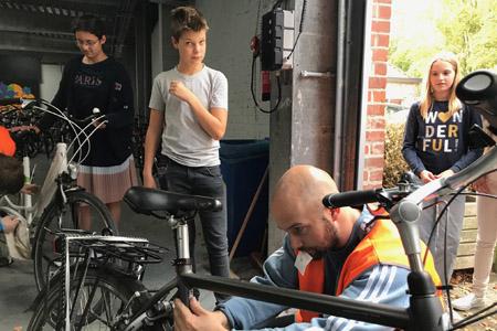 80 fietsen krijgen label tegen diefstal